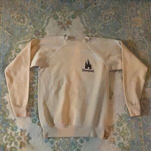 "1960's ""disneyland"" sweatshirt"